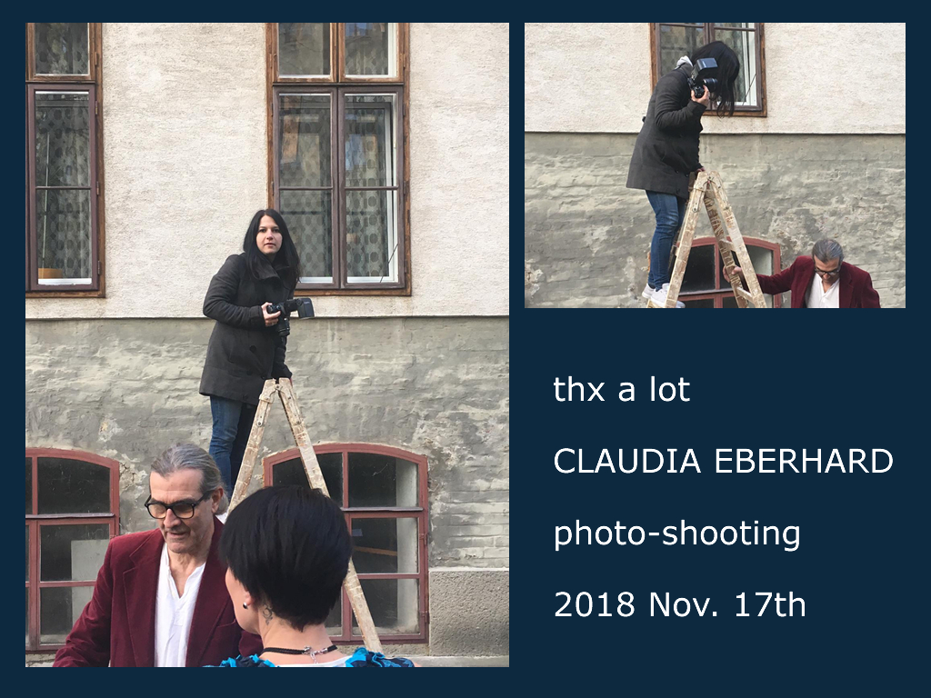 2018-11-17 - photo-shooting in and around El Corredor-Studio - thanks a lot for the fabolous job!!!!  [photos by Tanja Lipp]