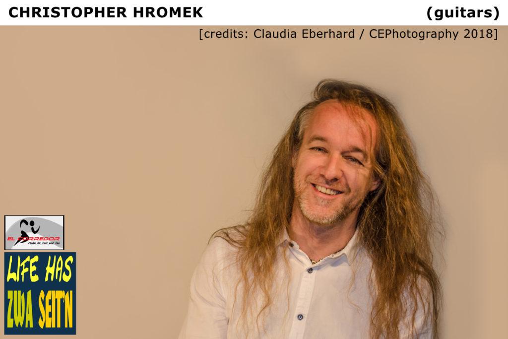 Christopher  credits Claudia Eberhard