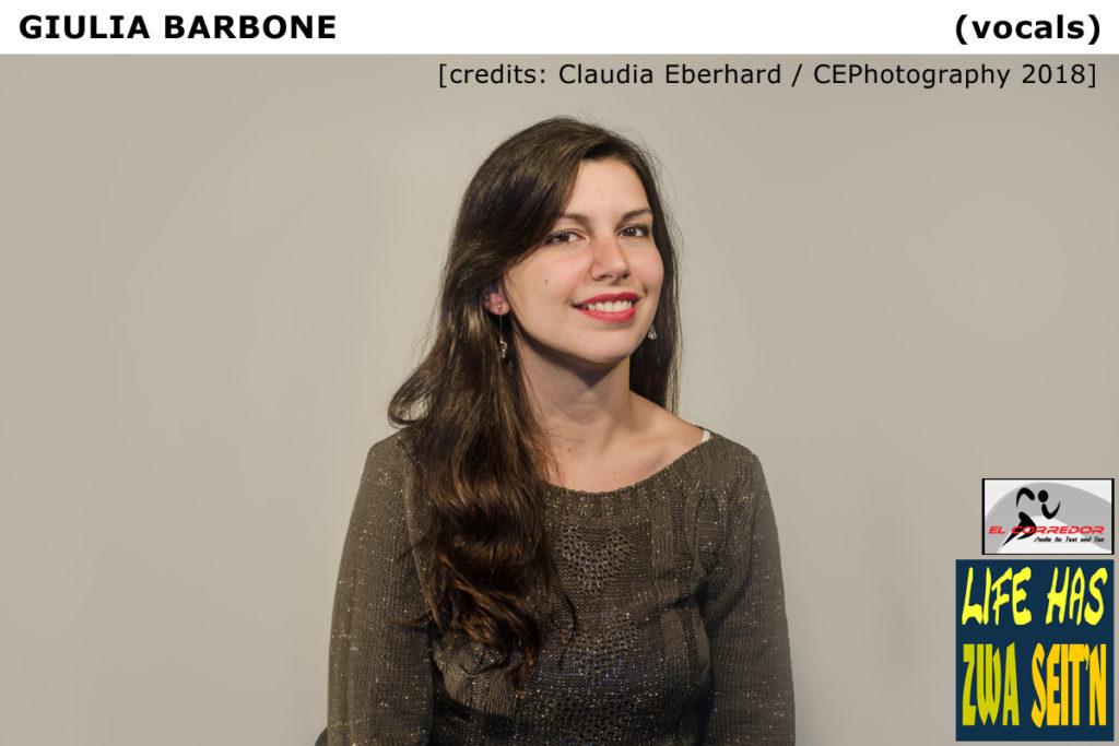 Giulia  credits Claudia Eberhard