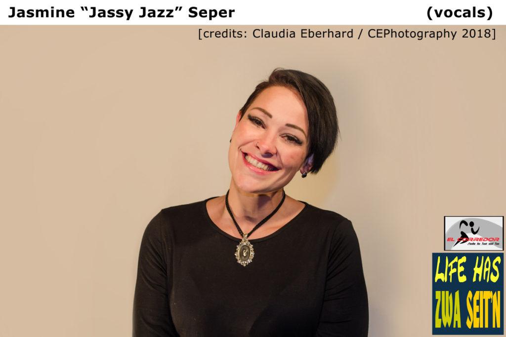 Jasmine  credits Claudia Eberhard